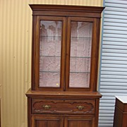 American Antique Furniture Victorian Antique Secretary Bookcase Desk