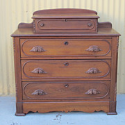 American Antique Victorian Dresser Chest of Drawers Antique Furniture