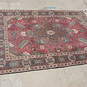 Beautiful Antique Hand Made Persian Rug Oriental Carpet