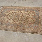 Original Antique Karastan Wool Carpet Rug