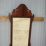 American Antique Chippendale Wall Mirror