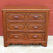 American Antique Victorian Dresser Chest of Drawers Antique Bedroom Furniture