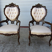 Pair of Italian Armchairs Italian Chairs Italian Furniture