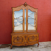 French Antique China Cabinet Display Cabinet Antique Furniture