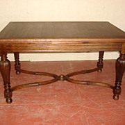 Beautiful French Oak Table Dining Table Library Table