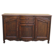 French Antique Sideboard Server Cabinet