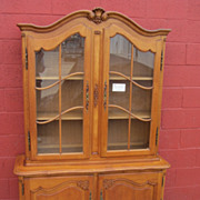 French Antique China cabinet Bookcase Display Cabinet Antique Furniture