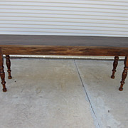 French Antique Table Sofa Table Harvest Table Antique Furniture