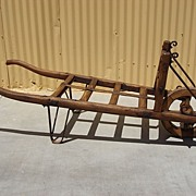 Architectural Antique Garden Cart Wheelbarrow Wagon Wheel Farm Cart Hay Cart