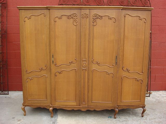 Wardrobe closet vintage armoire