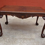 French Antique Chippendale Dining Table Antique Library Table Desk