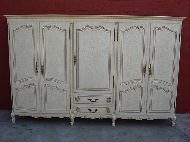 Wardrobe closet antique armoire