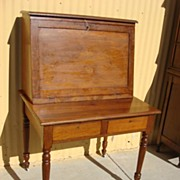 American Antique Break Front Secretary Desk Antique Office Furniture