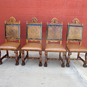 Spanish Antique Chairs Antique Side Chairs Antique Furniture