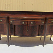 English Antique Georgian Sideboard Hepplewhite Antique Furniture