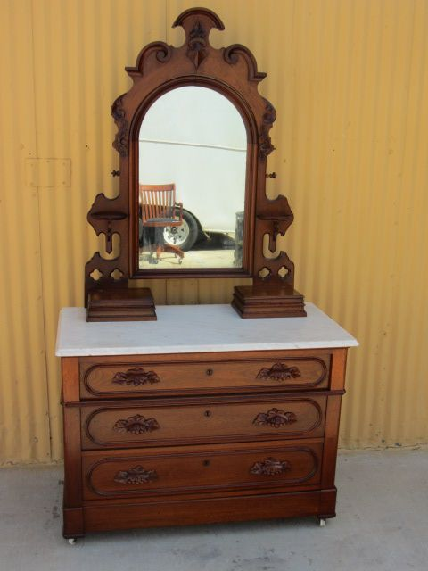 American Antique Dresser Victorian Antique Bedroom Furniture From