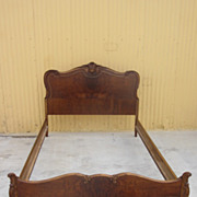 American Antique French Provincial Bed Antique Bedroom Furniture