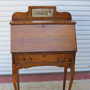 American Antique Breakfront Secretary Desk Antique Furniture