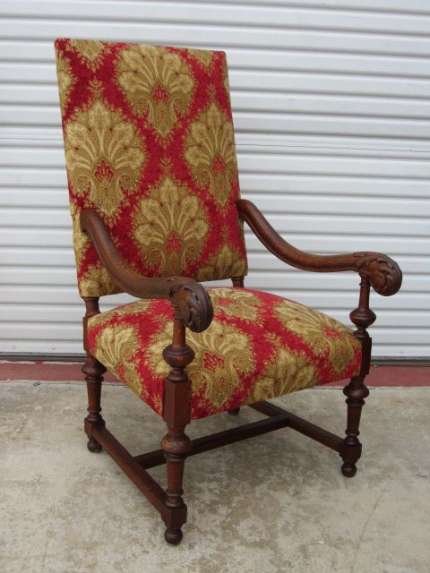 French Antique Arm Chair Accent Chair Antique Furniture from