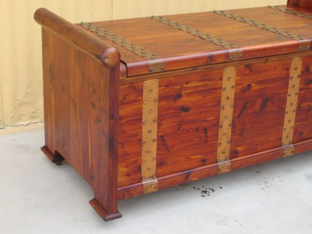 antique cedar blanket chest