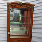 French Antique China Cabinet Display Cabinet Vitrine Antique Furniture