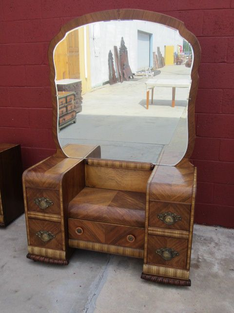 art deco waterfall bedroom furniture from mrbeasleys on ruby lane