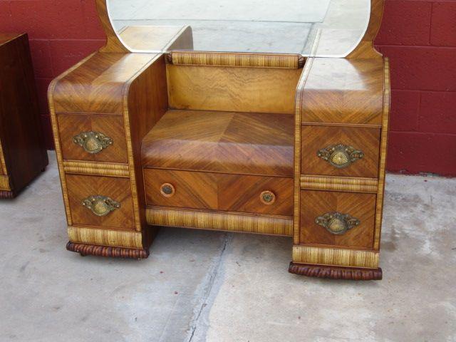 american vanity dresser art deco waterfall bedroom furniture from