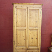 French Antique Armoire Wardrobe Cabinet Bonnetiere Antique Furniture