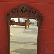 American Antique Mirror Federal carved Wall Mirror