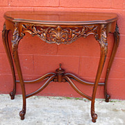 French Provincial Console Table Sofa Table Antique Furniture
