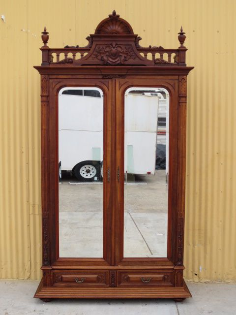 French Antique Armoire Wardrobe Antique Furniture