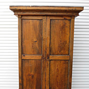 Primitive Pine Antique Rustic Armoire Cabinet Antique Furniture