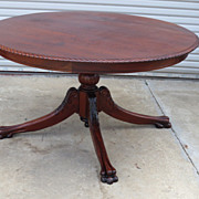American Antique Table Chippendale Round Table Antique Furniture