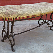 American Antique Bench Antique vanity Bench Antique Furniture