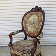 American Antique Arm Chair Antique Victorian Arm Chair Antique Furniture