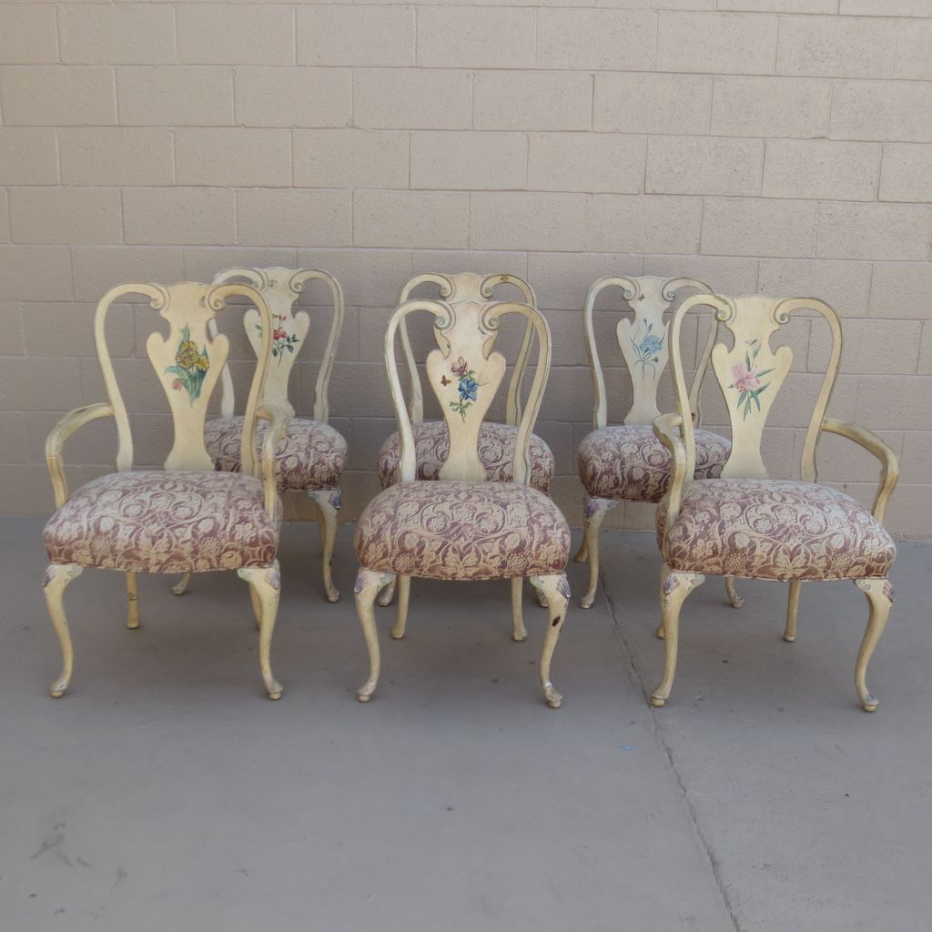 French Antique Dining Chairs Shabby Chic Chairs Antique Furniture ...