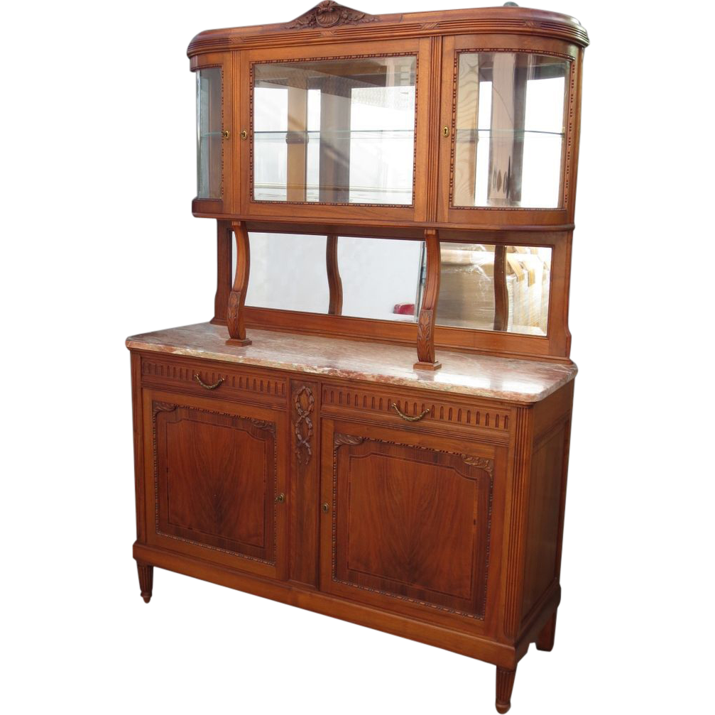 French Antique Buffet French Antique Hutch Antique Sideboard Display From Rubylane Sold On Ruby Lane