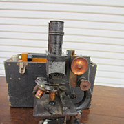 Antique Microscope Bausch & Lomb Microscope