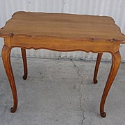 French Antique Side Table Antique Lamp Table Library Table Desk Antique Furniture