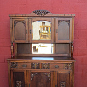 French Art Deco Hutch Cabinet Server Art Deco Furniture