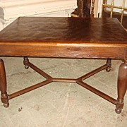 French Antique Dining Table Library Table Desk