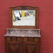 French Dresser Washstand Commode Art Deco Bedroom Furniture