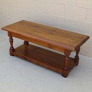 french Antique Rustic Coffee Table