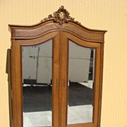 French Antique Louis XV Armoire Wardrobe Cabinet Antique Furniture