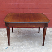 French Antique Oak Table Library Table Desk Antique Furniture