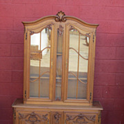 French Antique Display Cabinet China Cabinet Bookcase Antique Furniture