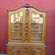 French Antique China Cabinet Display Cabinet Curio Cabinet Antique Furniture