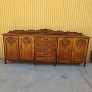 Antique Furniture French Antique Sideboard Server cabinet Antique Cupboard Antique Dining Room
