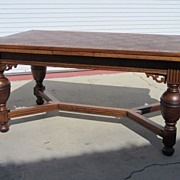 French Antique Dining Table Library Table Desk French Antique Furniture