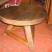 Spanish Antique Rustic Coffee Table Arts and Crafts Mission Coffeetable